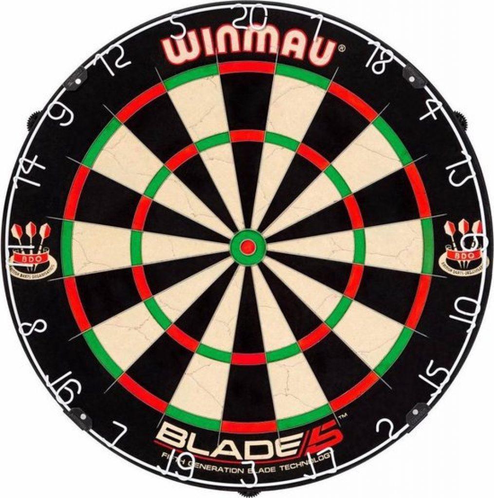 winmau blade 5 beste dartbord 2021