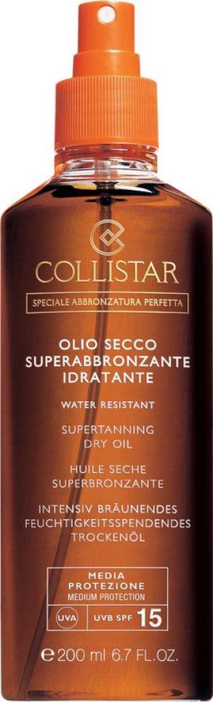 Collistar Supertanning Dry Oil Beste Zonnebrandolie