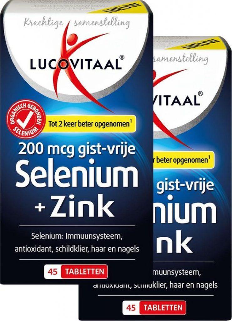 Lucovitaal Selenium Zink tabletten beste 2021